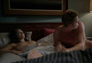 emmy rossum topless after sex in bed on shameless 8119 25