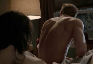 emmy rossum topless after sex in bed on shameless 8119 26