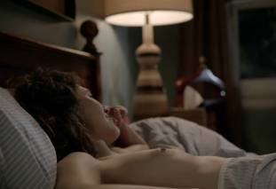 emmy rossum topless after sex in bed on shameless 8119 27