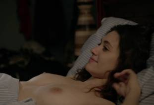 emmy rossum topless after sex in bed on shameless 8119 29