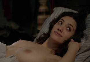 emmy rossum topless after sex in bed on shameless 8119 30