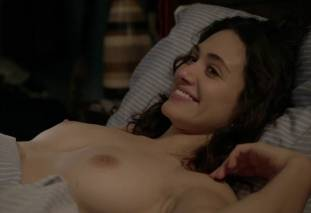 emmy rossum topless after sex in bed on shameless 8119 32