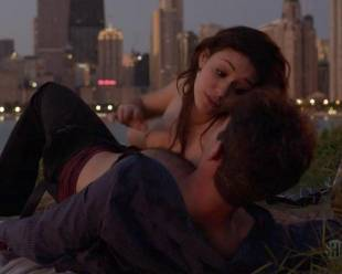 emmy rossum topless for sex in the park on shameless 5796 14