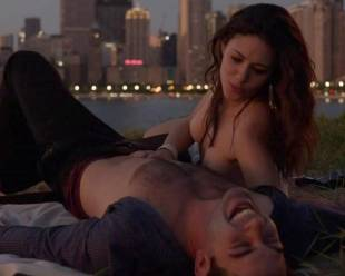 emmy rossum topless for sex in the park on shameless 5796 15