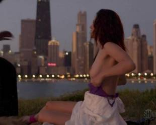emmy rossum topless for sex in the park on shameless 5796 17