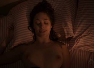 emmy rossum topless in bed to go over her to do list 1119 4