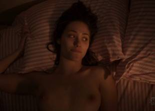 emmy rossum topless in bed to go over her to do list 1119 7