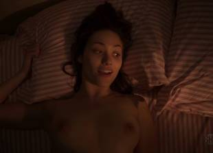 emmy rossum topless in bed to go over her to do list 1119 8