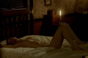eva green nude on bed in penny dreadful 2773 11
