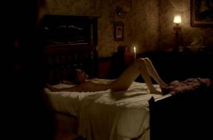 eva green nude on bed in penny dreadful 2773 4