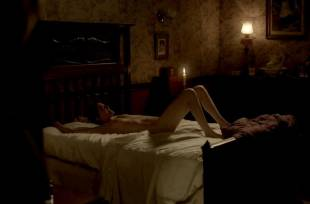 eva green nude on bed in penny dreadful 2773 6