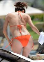 eva longoria nipple slip out of bikini in puerto rico 9578 10