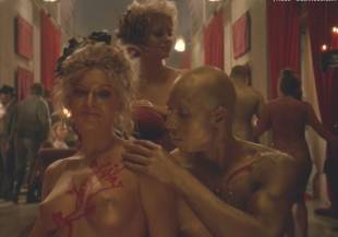 evan rachel wood nude and orgy scene on westworld 3233 23