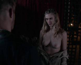 gaia weiss topless for a flash on vikings 4790 12