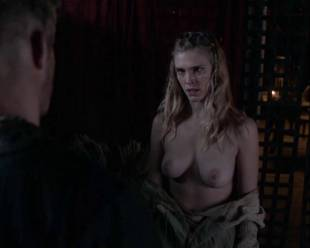 gaia weiss topless for a flash on vikings 4790 13