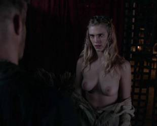gaia weiss topless for a flash on vikings 4790 14