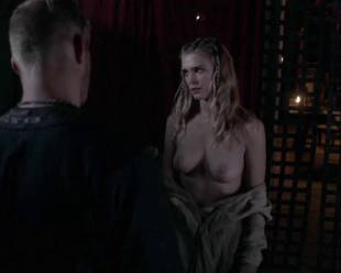 gaia weiss topless for a flash on vikings 4790 5