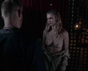 gaia weiss topless for a flash on vikings 4790 6