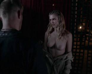 gaia weiss topless for a flash on vikings 4790 7