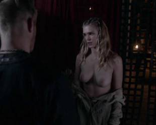 gaia weiss topless for a flash on vikings 4790 8