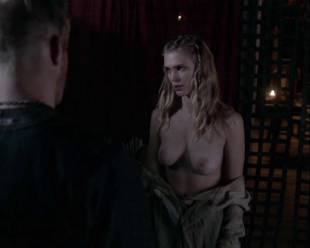 gaia weiss topless for a flash on vikings 4790 9