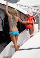 geri halliwell topless on hot summer day on yacht 9356 7