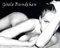 gisele bundchen nude in black and white 4661 7
