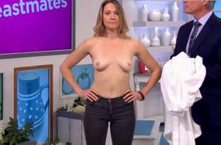 hannah almond topless for breast exam on lorraine 2263 10