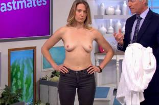 hannah almond topless for breast exam on lorraine 2263 11