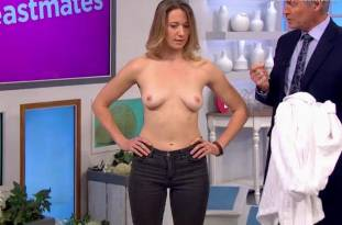 hannah almond topless for breast exam on lorraine 2263 13