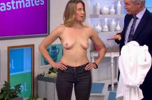 hannah almond topless for breast exam on lorraine 2263 15