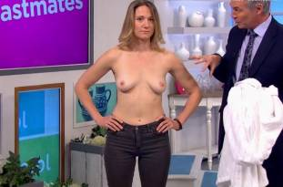 hannah almond topless for breast exam on lorraine 2263 16