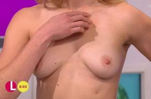 hannah almond topless for breast exam on lorraine 2263 20