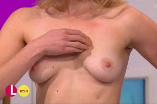 hannah almond topless for breast exam on lorraine 2263 22