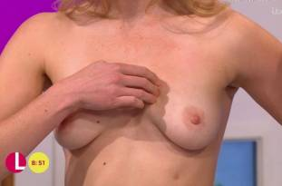 hannah almond topless for breast exam on lorraine 2263 23