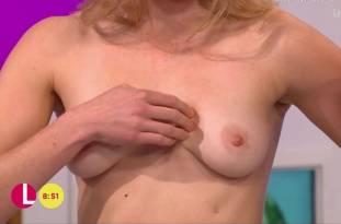 hannah almond topless for breast exam on lorraine 2263 24