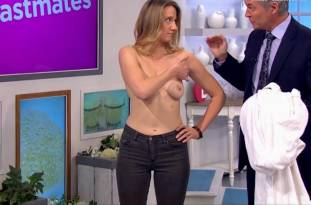 hannah almond topless for breast exam on lorraine 2263 28
