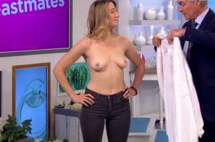 hannah almond topless for breast exam on lorraine 2263 31