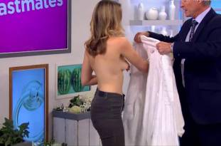 hannah almond topless for breast exam on lorraine 2263 33