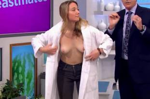 hannah almond topless for breast exam on lorraine 2263 36