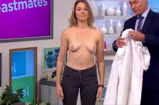 hannah almond topless for breast exam on lorraine 2263 6
