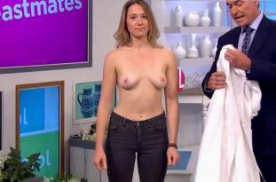 hannah almond topless for breast exam on lorraine 2263 7