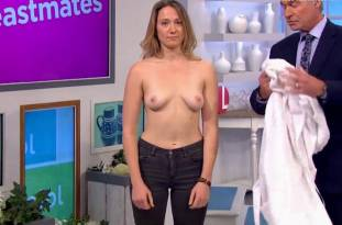 hannah almond topless for breast exam on lorraine 2263 8