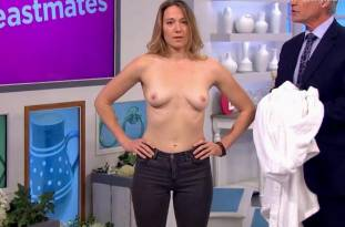 hannah almond topless for breast exam on lorraine 2263 9