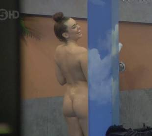 harry amelia nude full frontal shower on big brother 7468 17