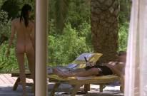 helena noguerra nude pool scene from mafiosa 0663 27