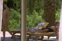 helena noguerra nude pool scene from mafiosa 0663 29