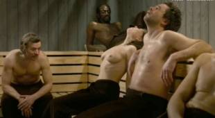 india hair topless sauna scene in divin enfant 4977 10