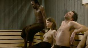 india hair topless sauna scene in divin enfant 4977 15