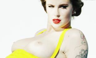 ireland baldwin topless in treats 8599 1